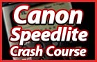 Canon 580 & 430 Speedlite Crash Course DVD