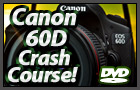Canon 60D Training Video Lessons DVD!