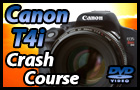 Canon T4i Training Tutorial Video Manual