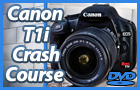 Canon Rebel T1i Crash Course Training DVD