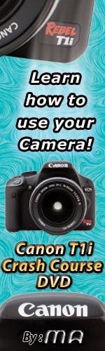Canon Rebel T1i Crash Course DVD