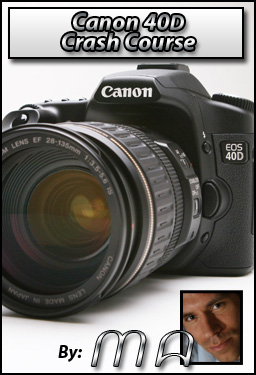 Canon 40D DVD Training Guide - Michael Andrew Photography Blog