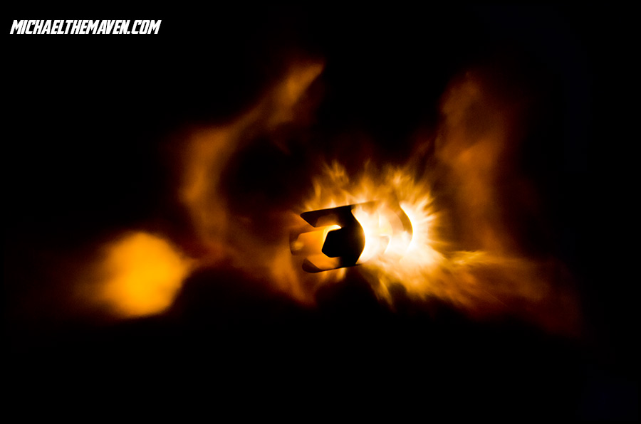 Machine Gun Muzzle Flash Front Front Muzzle Flashes With a