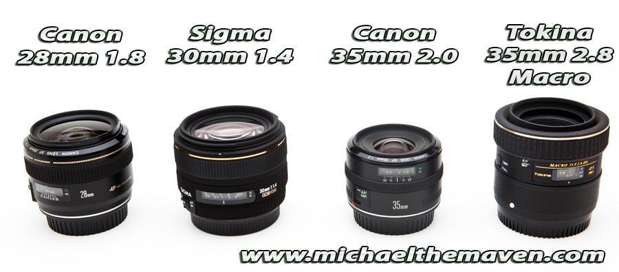 Best Portrait Lenses for APS-C (1.6 Crop) Canon Body - Michael ...