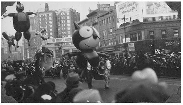 Vintage Thanksgiving Day Parade Photos