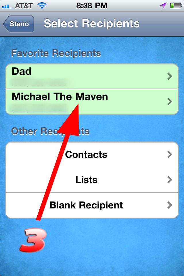 no more giving directions steno app gps texting michael